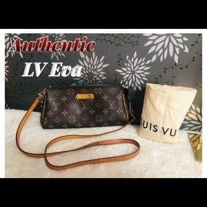 Original LV Eva sling monogram